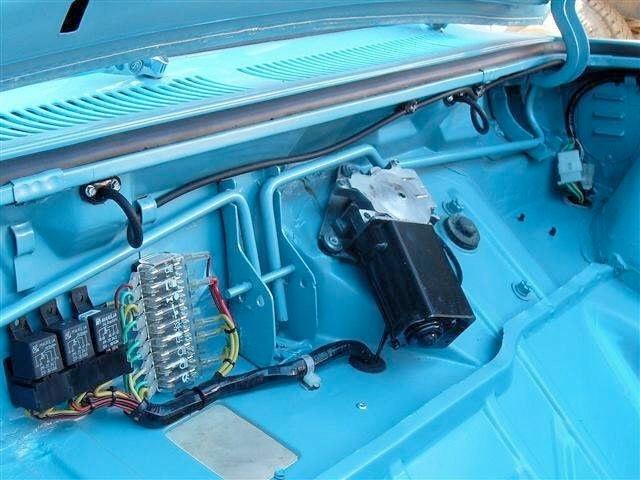 corsa dash in a monza rh corvaircenter com 1966 corvair fuse box