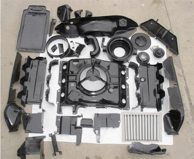 Engine Shroud Paint Recommendations