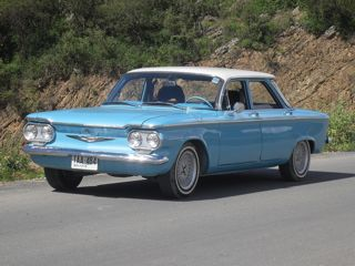 1960 Corvair restored by Richard Widman