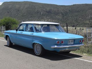 Rear of finished 1960 Corvair