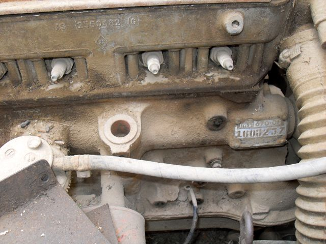 Engine Number on Basic Car Engine Parts