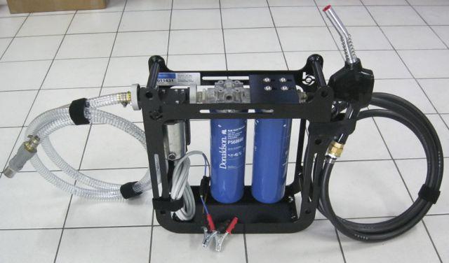 Purificador de combustible portatil