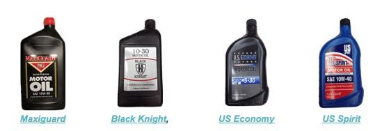 Cuatro aceites prohibidos
