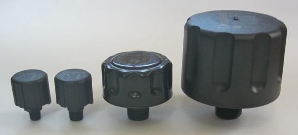 Cuatro tamaños de filtro TRAP