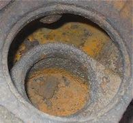 Corrosión en la culata