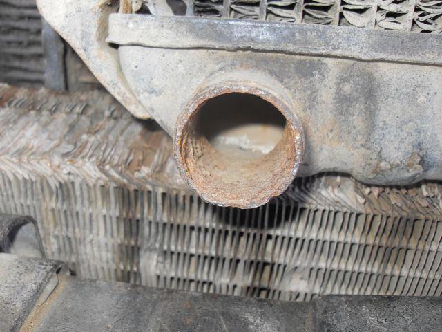 Corrosión en el sistema de refrigeración